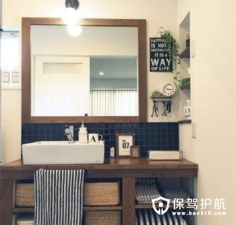 学会了这些洗手台收纳设计方法 让你的卫浴间看起来更加干净整齐