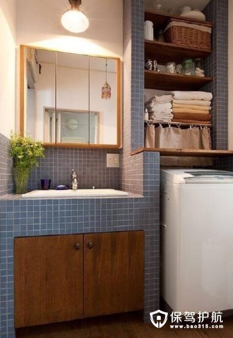 洗衣机摆放设计