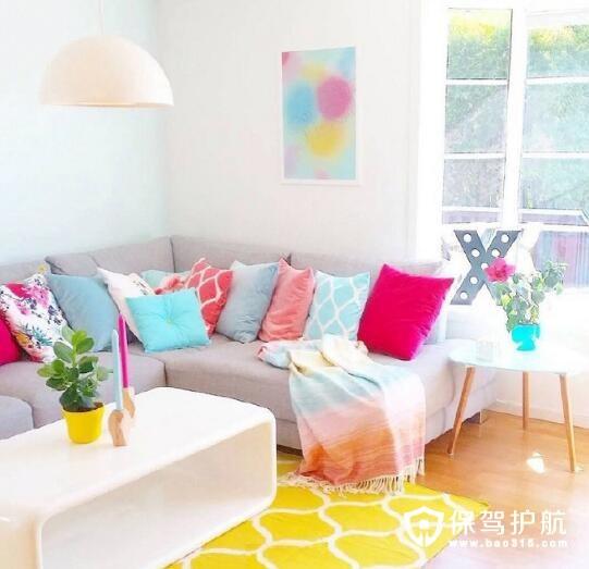 我轻轻地尝一口 感受甜软细腻糖果般的家具色彩搭配