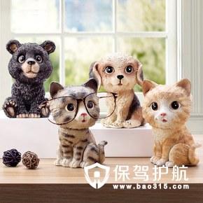 吸猫的你怎么可以少了这些可爱的动物家居摆件为家添趣味