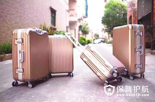 铝镁合金网红行李箱
