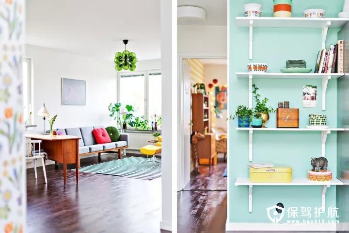 书房空间相对较大,也是装成一起集合了休闲与办公一体的空间,显得格外的惬意舒适。