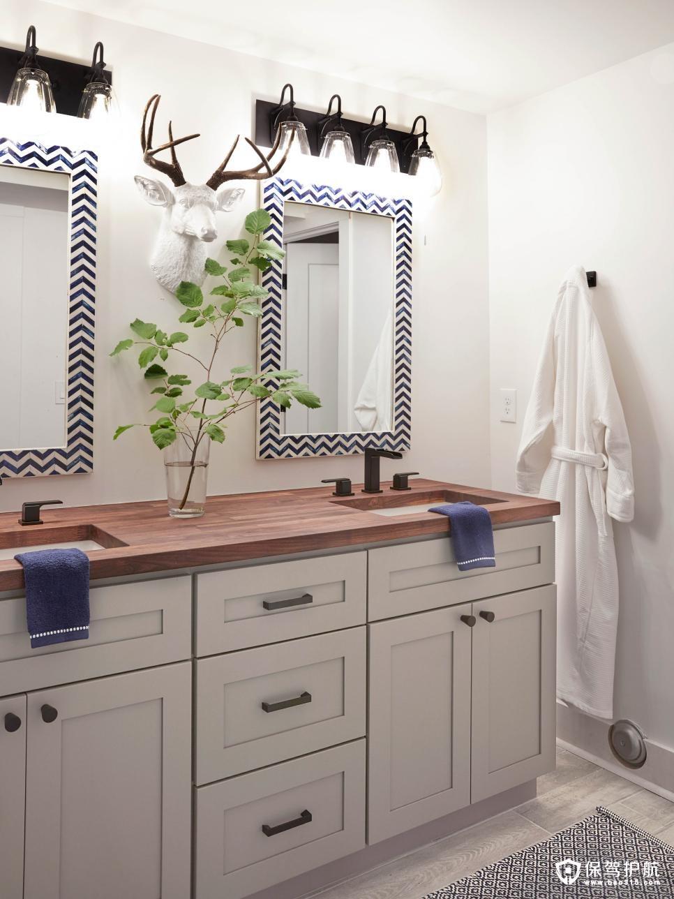 2018客房浴室装修效果图