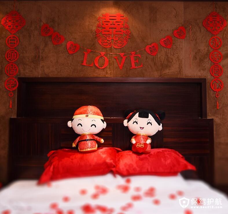 当春节遇上情人节 婚房软装布置唯美浪漫爱情