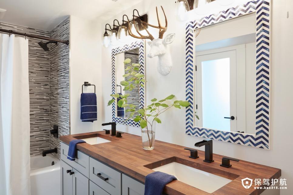 2018客房浴室装修效果图,给您装修的灵感