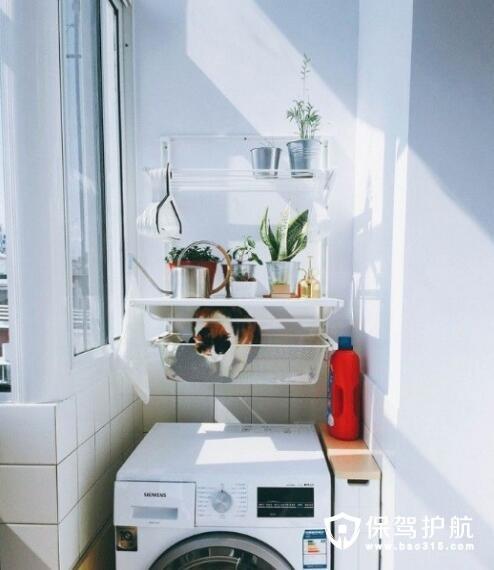 洗衣机收纳