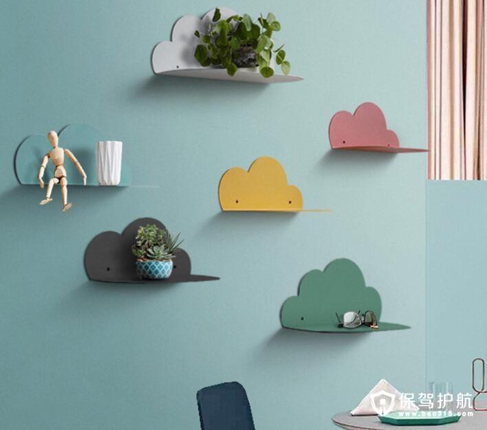 云朵造型的居家小物装饰 拥有一片自己的蓝天