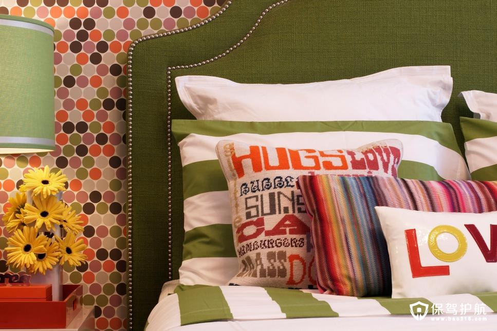 多样式卧室床头板给你灵感