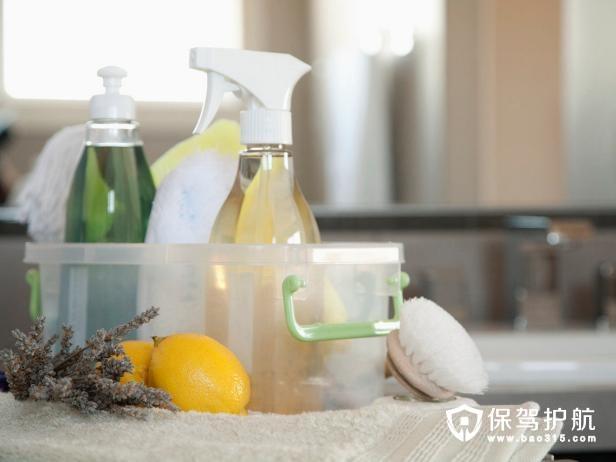如何存储清洁用品