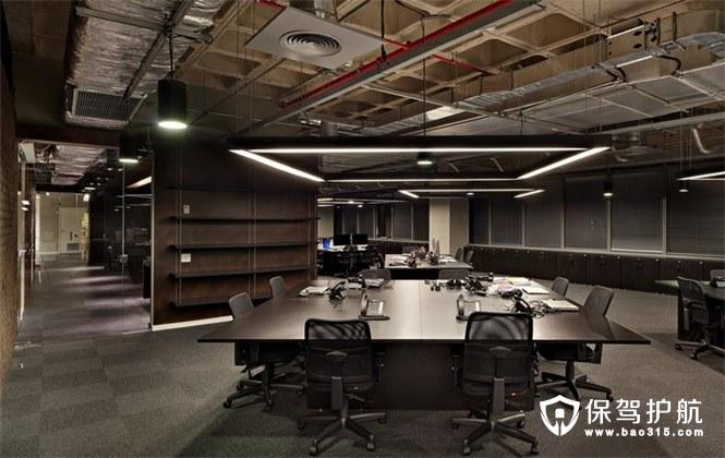 年轻人最爱,独特而时尚工业风办公室装修效果图