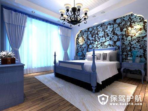 地中海风格卧室设计