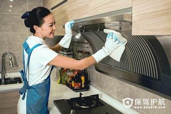2018春节大扫除必备,油烟机清理小技巧