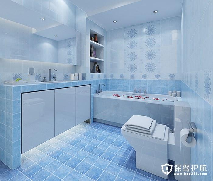 地中海卫浴设计