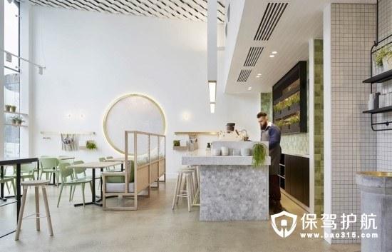 自带高级感的莫兰迪色系咖啡厅软装搭配