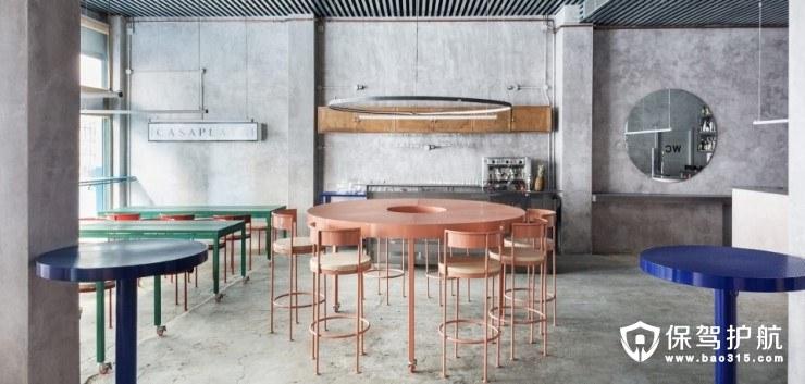 塞维利亚网红餐厅Casaplata复古工业风软装火爆外网