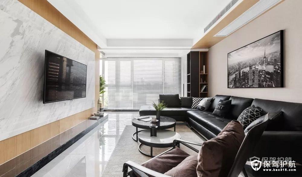各色客厅电视墙装修效果图