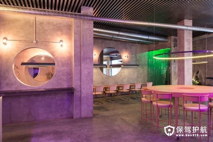 复古工业风软装餐厅