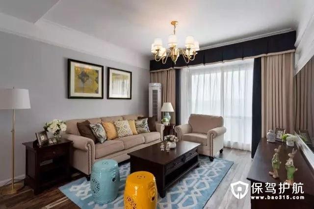 禅意精致又惬意现代美式沙发