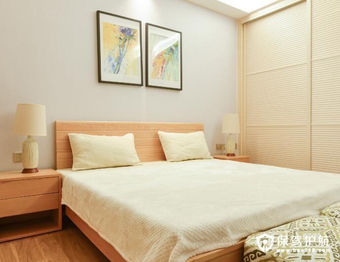 美式古典现代清新风格卧室装修