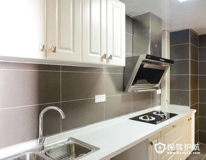 美式古典现代清新风格厨房装修