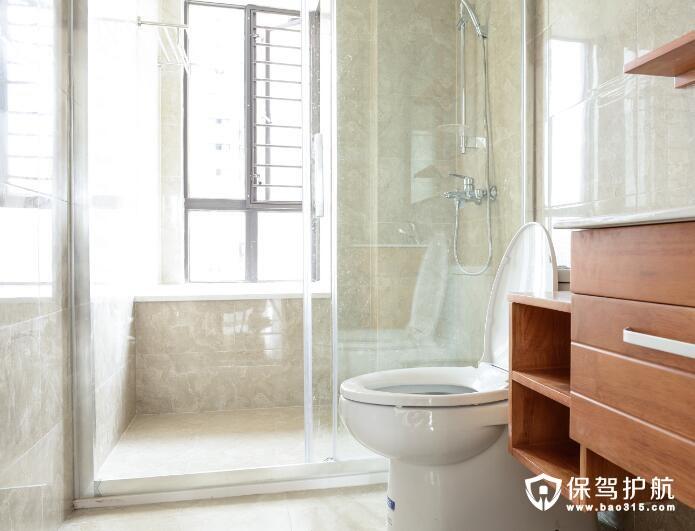 美式古典现代清新风格卫浴装修