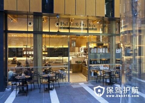 重工业美学巴黎Pablo&Rusty's咖啡馆装修欣赏