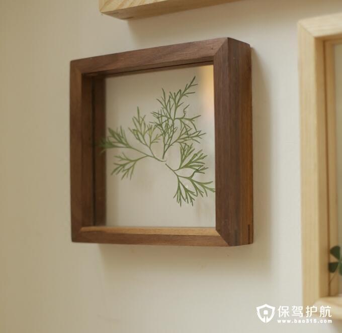 黑胡桃实木白蜡实木照片墙