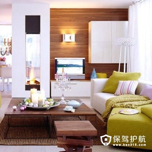 客厅软装饰