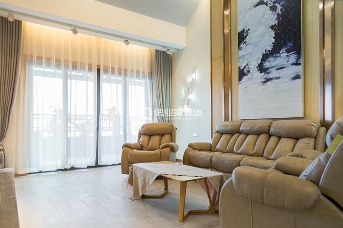 重庆保利山庄 156平跃层 港式风格装修 实景案例图