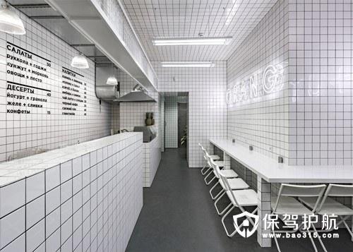 素食主义餐厅O+U新概念装修设计