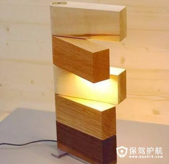 积木堆砌灯
