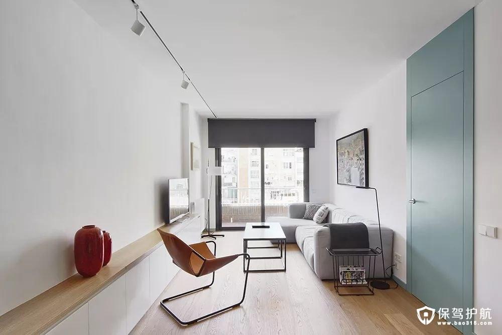 现代艺术感简约风格客厅
