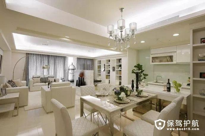 客厅、书房、餐厅、厨房等四方空间