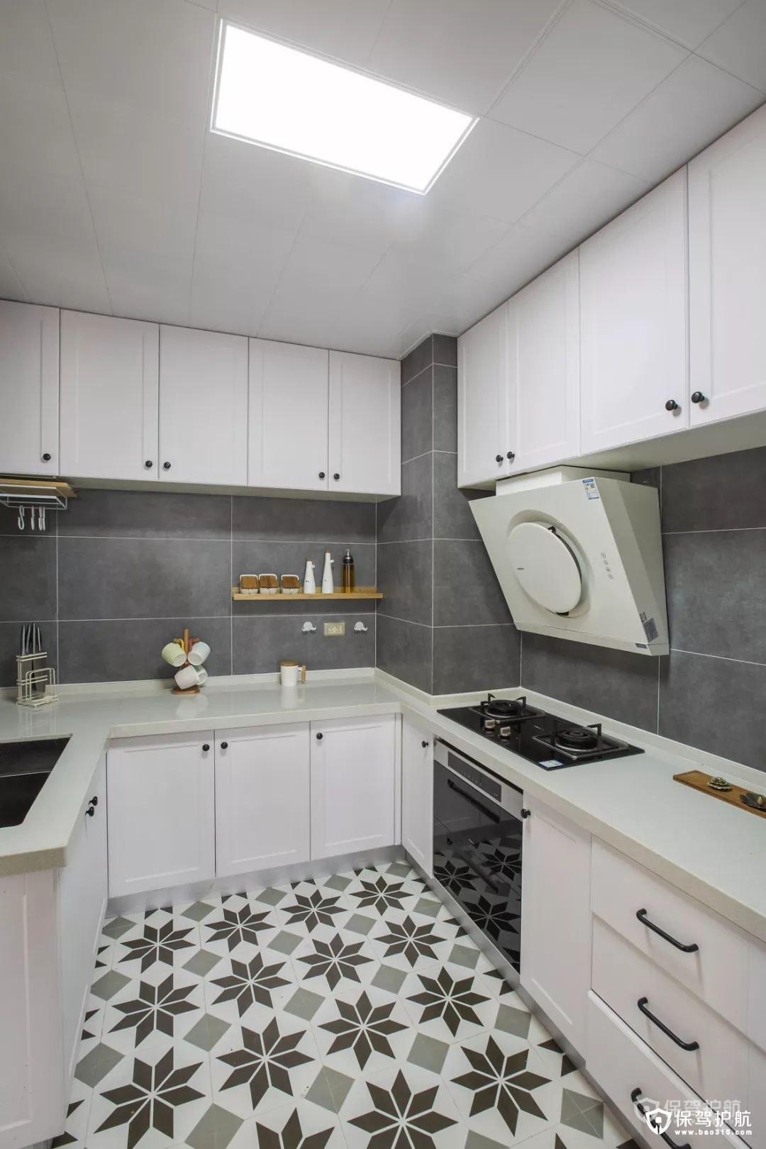 各色厨房橱柜装修效果图