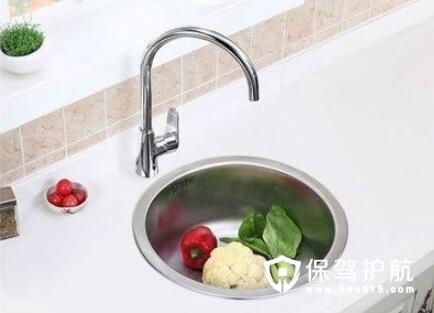 厨房灶台洗菜池