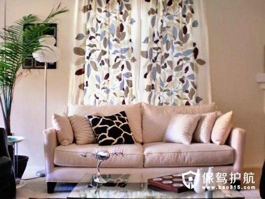 客厅沙发软装搭配