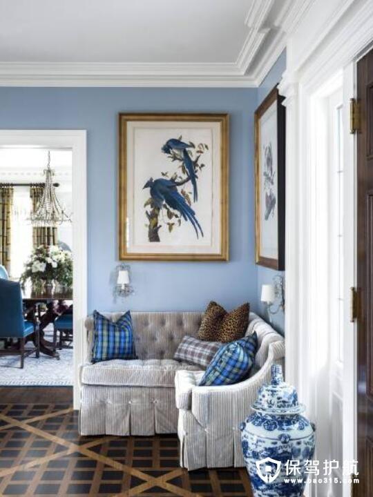 从画里走出来的家饰装修 散发现代气息的旧时陈设
