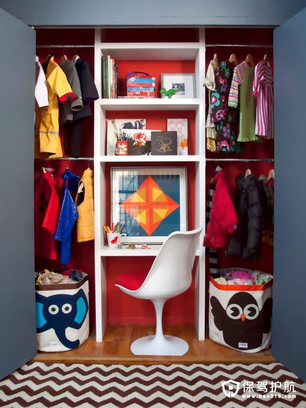 共享儿童房设计效果图