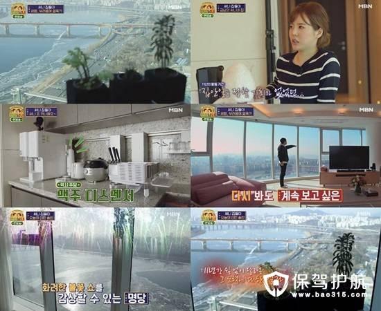 少女时代sunny27亿汉江公寓现代艺术软装设计公开