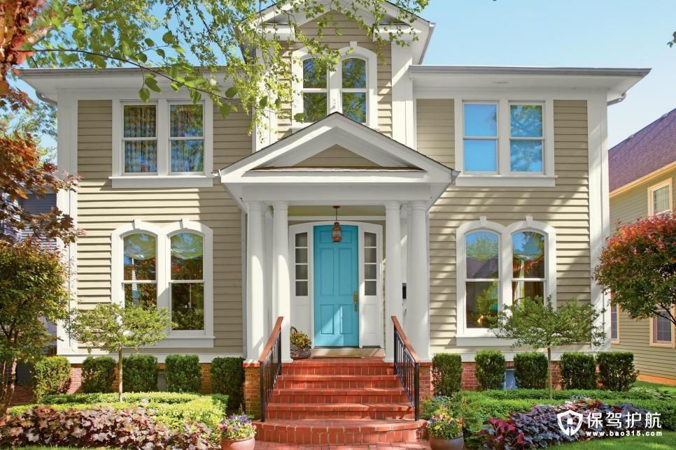 美丽的家庭小院外观装修效果图勾人心弦