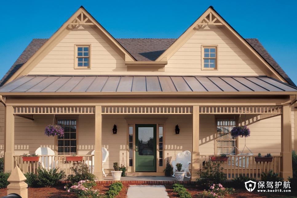美丽的家庭小院外观装修效果图