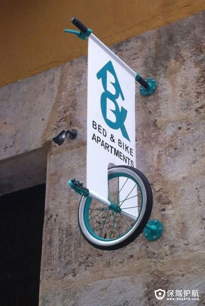 空中创意自行车设计