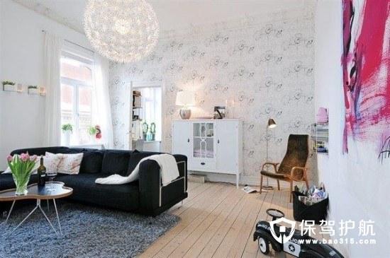 斯堪的纳维亚风格客厅设计
