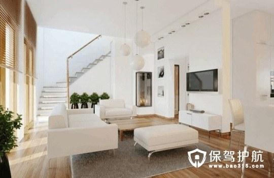 黑白现代简约客厅软装设计集锦
