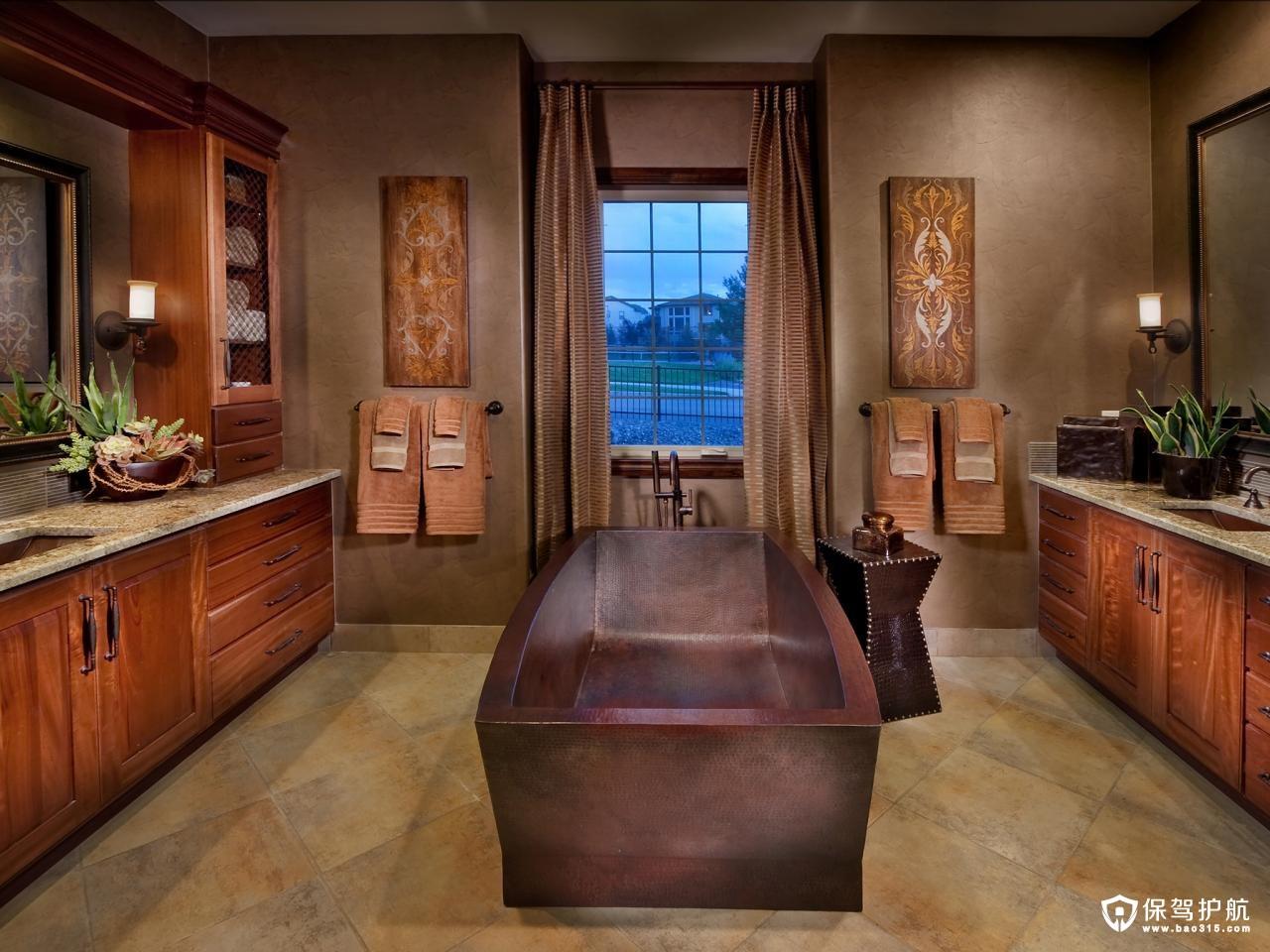 浴室装饰技巧和想法