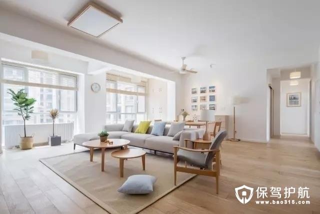 现代日式三居 超美超清新的阳光房