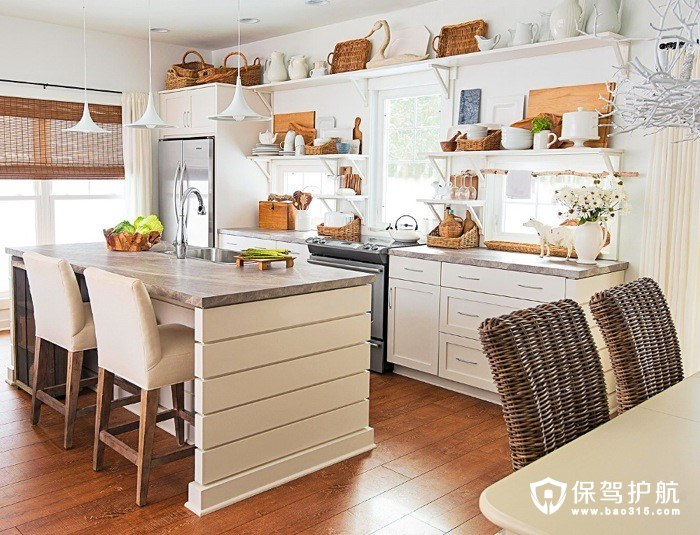 田园风格厨房设计效果图