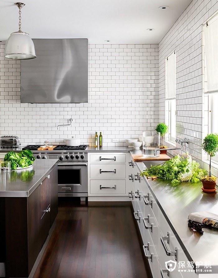 白色厨房设计效果图