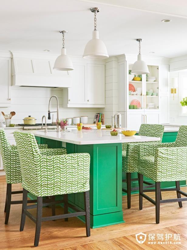 6个真正让色彩变得与众不同的厨房