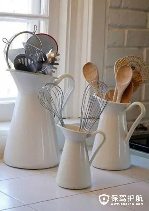 花瓶收纳厨房用具